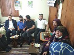 Kaymakam Çimşit'ten şehit ailesine babalar günü ziyareti