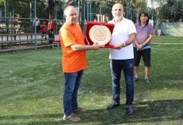 ASKF'den Başkan Çavuşoğlu'na teşekkür plaketi