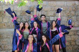 Akdeniz Üniversitesi'nde Antalya Devlet Konservatuvarı mezuniyet töreni