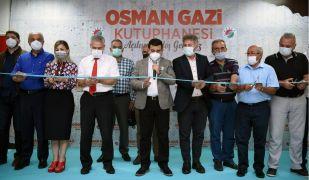 Osman Gazi Kütüphanesi açıldı