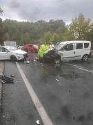 Antalya'da yağış trafik kazalarına sebep oldu: 6 yaralı