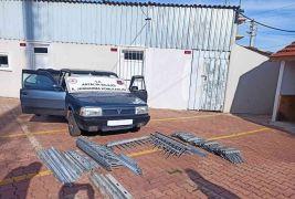Demir hırsızı jandarma takibiyle yakalandı